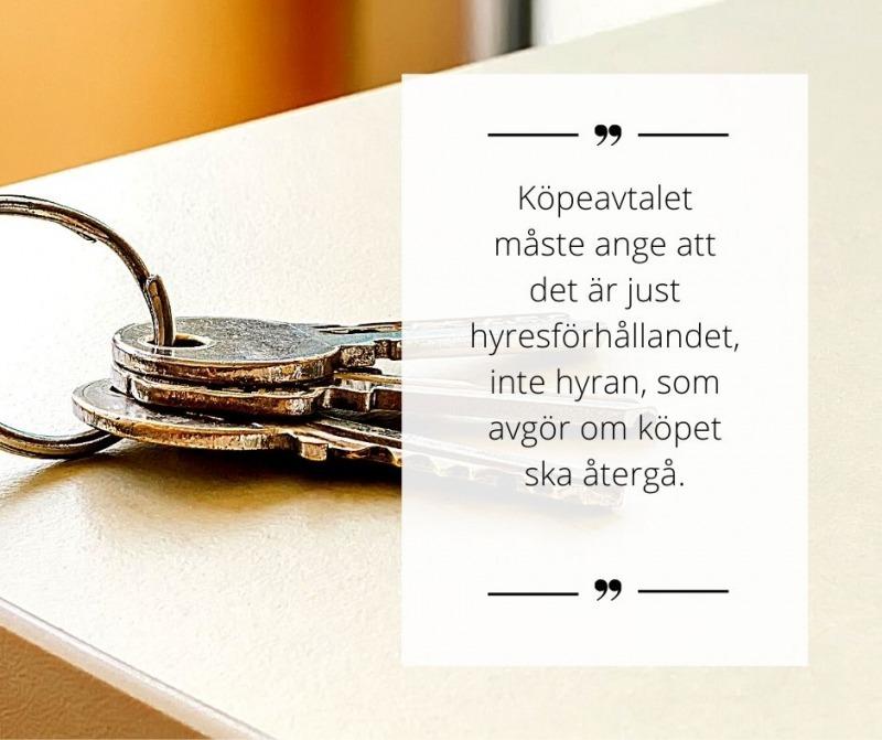 """, Vilka svävarvillkor får gälla i mer än två år? – Fallet """"Vandrarhemmet i Lycksele"""", Rättsakuten"""